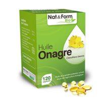 Huile d'Onagre bio (120 capsules) - Nat & Form