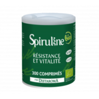 Spiruline bio (300 comprimés) - Dietaroma