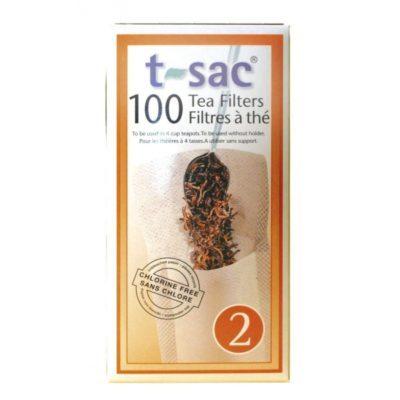 Filtres biodégradables N°2 – T-Sac