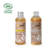 Shampooing Doux bio + Traitant bio (200 ml x2) - Propolia en Duopack