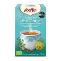Yogi Tea - Réconfort de la Gorgebio (17 sachets)