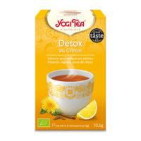 Yogi Tea – Détox au Citron bio (17 sachets)
