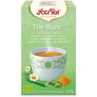 Yogi Tea – Thé Blanc à l'Aloe Vera bio (17 sachets)