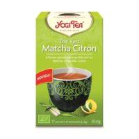Yogi Tea – Thé Vert Matcha Citron bio (17 sachets)